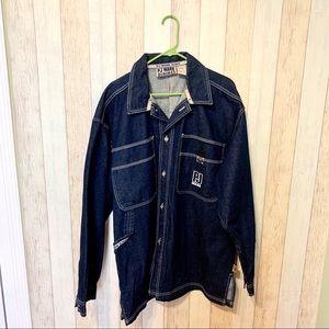 🌻 PJ Mark Heavy Denim Jacket